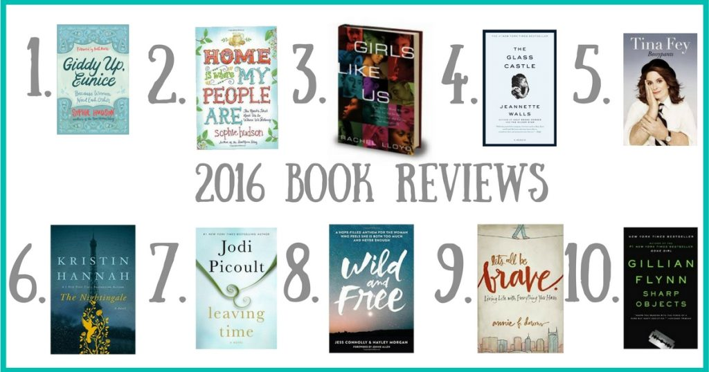 Looking for some good books to read? Here are my book reviews  on 10 books I read this past year. Click on the blog to read my reviews
