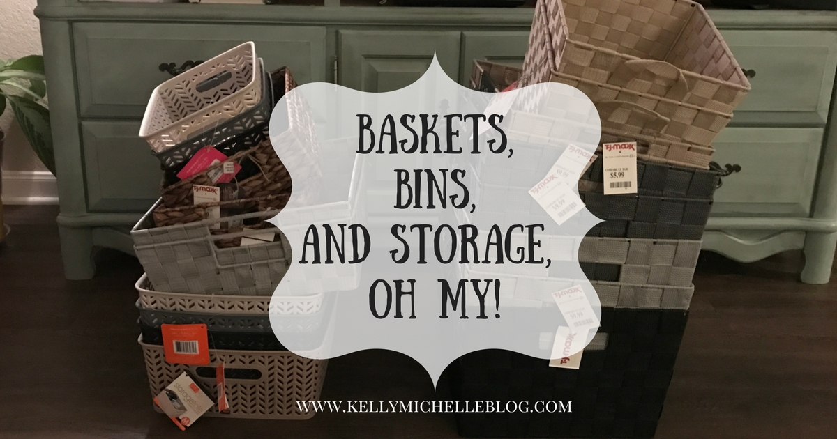 Cabinet and Closet Organization baskets