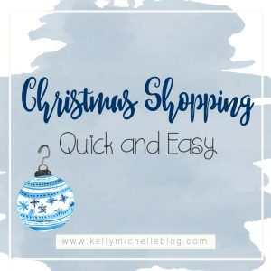 Get your Christmas shopping done quickly and with much more ease with this tip.