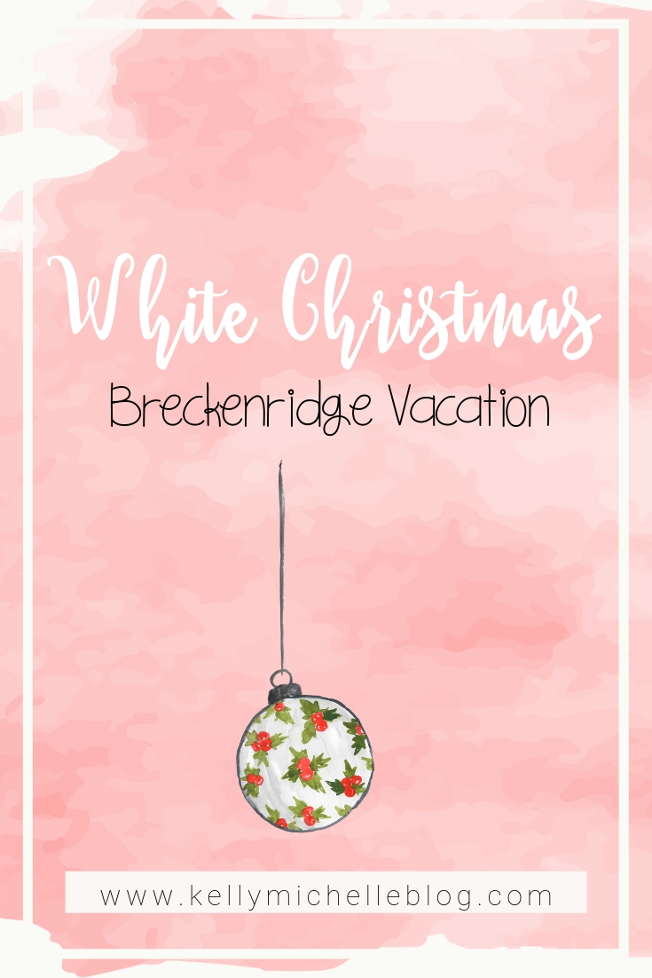 Our trip to Breckenridge Colorado and what we did while traveling in Breckenridge in the winter.