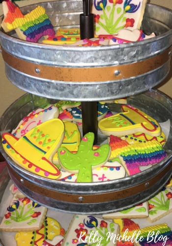 How to Throw a Fiesta Themed Party- fiesta themed cookies