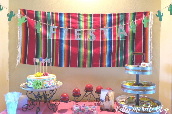 How to Throw a Fiesta Themed Party- dessert and cookies