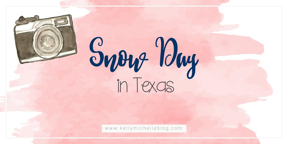 Snow Day photos in Texas