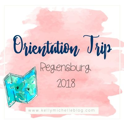 Orientation Trip to Regensburg Germany