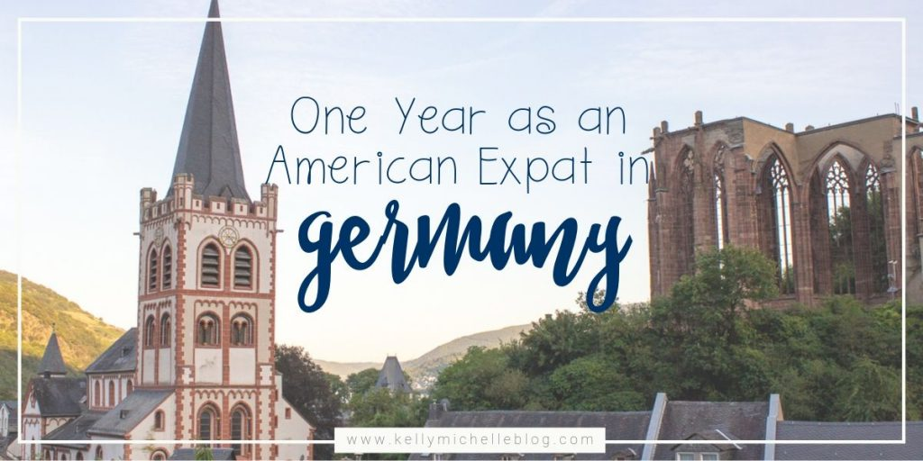 Reflections on one year of living as an American expat in Germany.