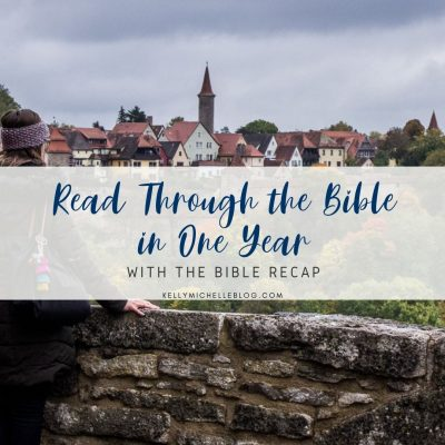 How to Read the Bible in One Year with The Bible Recap